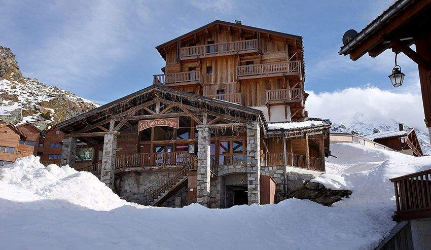 Hermine Residence, apartments on the slopes in Val Thorens